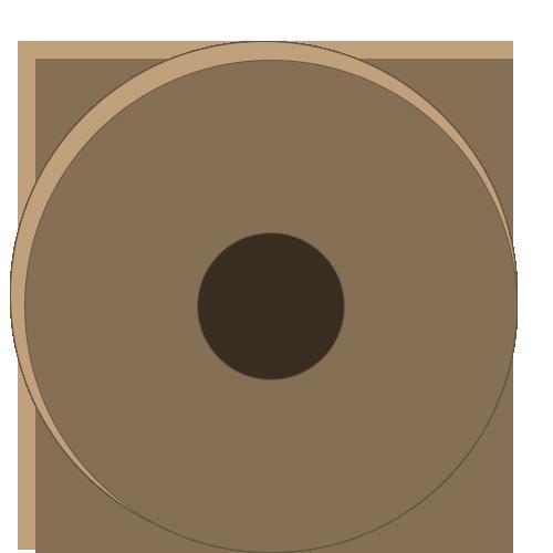 Une meule en pierre